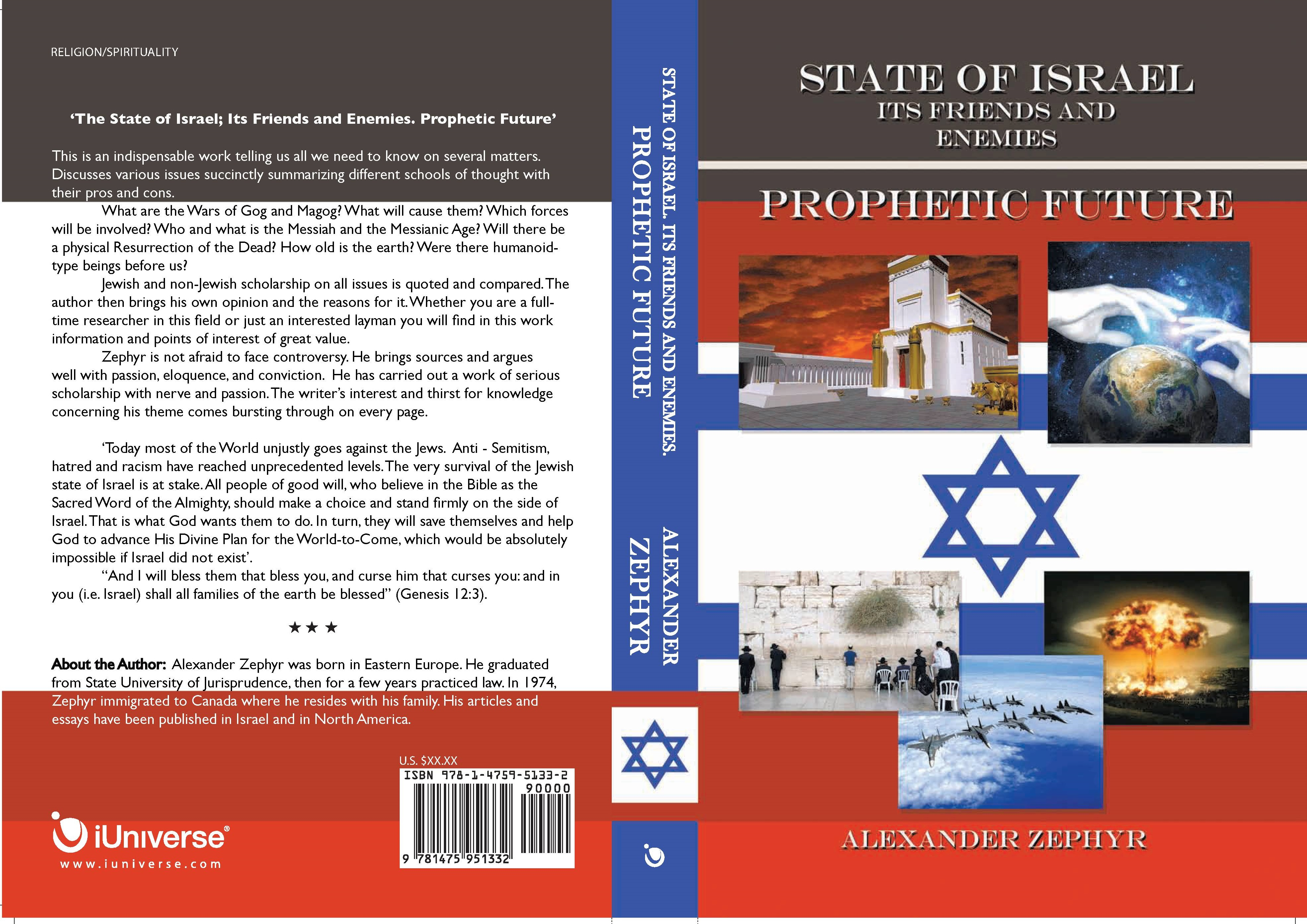 State of Israel. Its Friends and Enemies. Prophetic Future